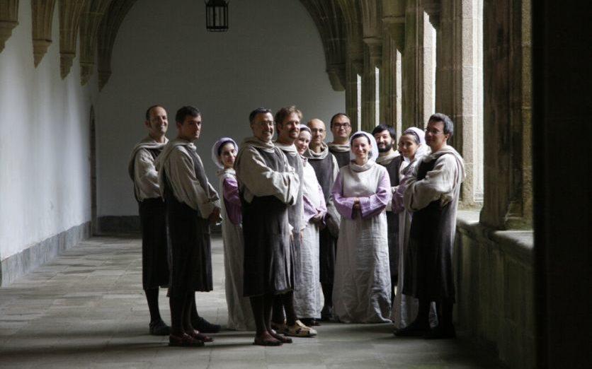 10 Ars Medieval-Tutti Claustro 1a Samos, Lugo (F.Santy López)